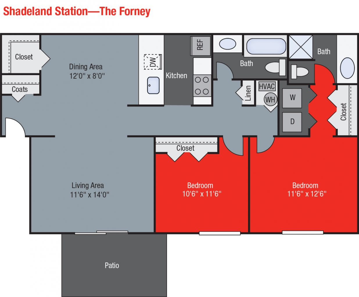 Apartments For Rent TGM Shadeland Station - Forney