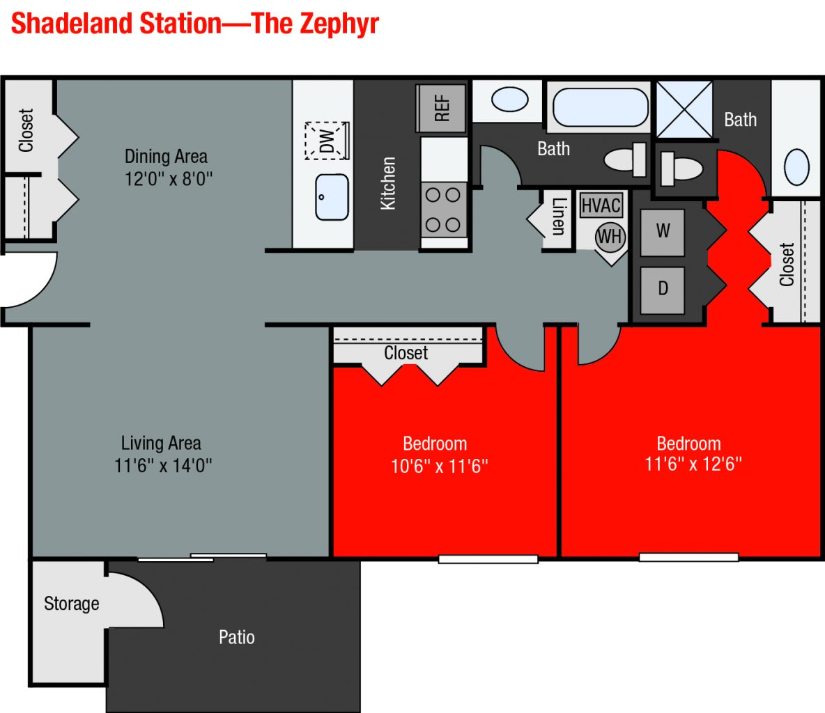 Apartments For Rent TGM Shadeland Station - Zephyr