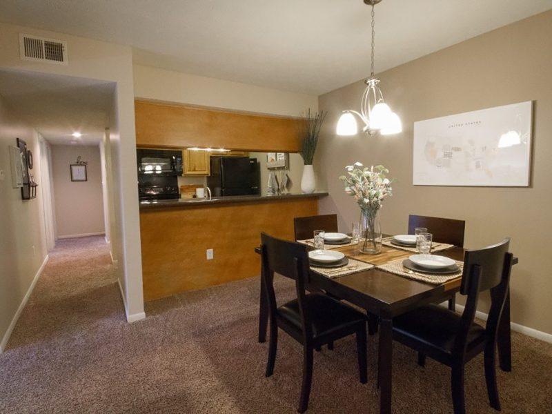 TGM Shadeland Station Apartments Dining Room