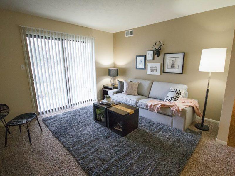 TGM Shadeland Station Apartments Living Room 2